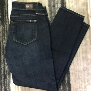 Paige Roxy Cropped Denim Jeans 29